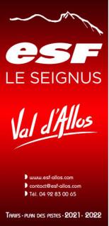 Ecole du ski français de Val d'Allos - le Seignus