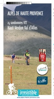 Carte des itinéraires de randonnées VTT