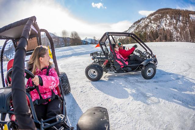 Ecole de conduite sur glace
