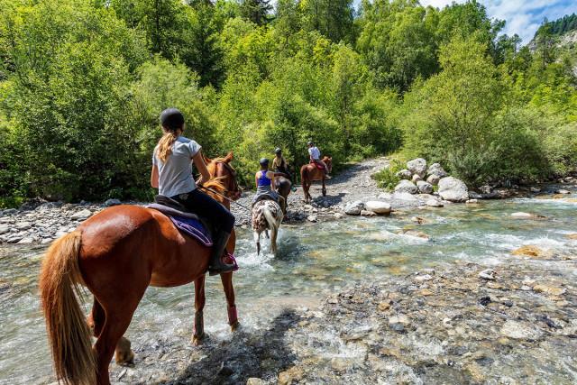Equitation, rando d'ânes