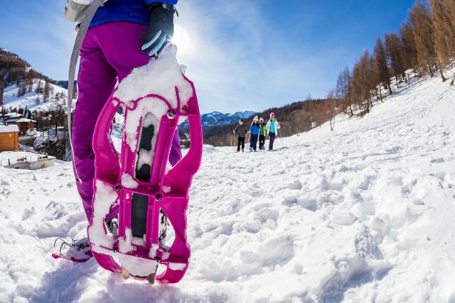 Guide di montagna alla neve