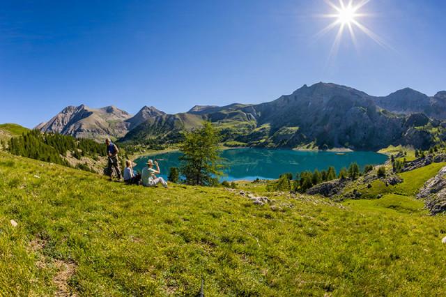 Allos lake