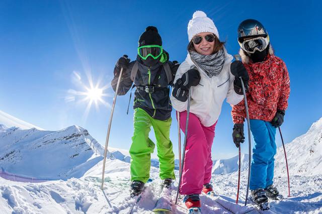 Location de skis Famille Plus