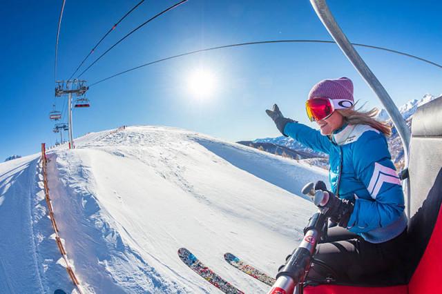 Ski area, skipass