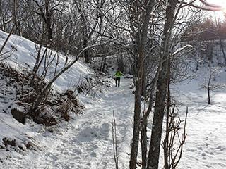 Val d'Allos winter trail