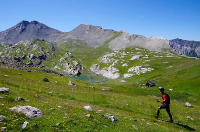 Trail des mélèzes du Mercantour