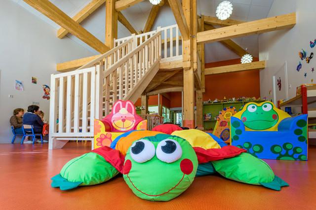 Day nurseries, leisure centers