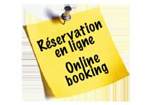 Demande de réservation