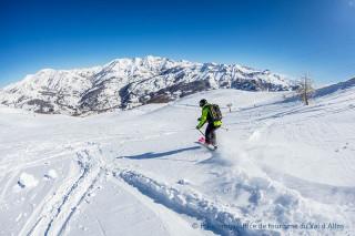 Val d'Allos : domaine skiable de l'espace lumière