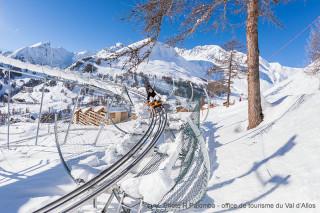Verdon express, luge sur rail multisaison