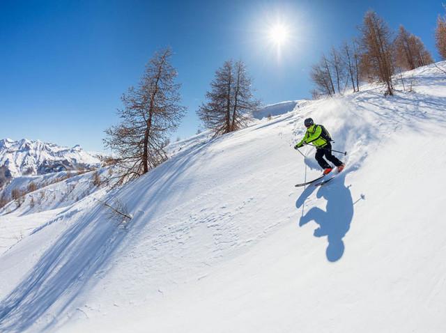 skier au Val d'Allos