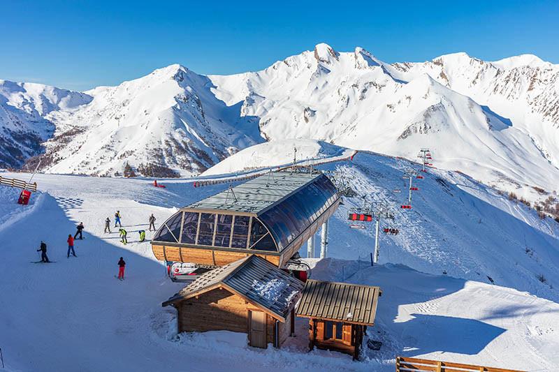 domaine skiable Val d'Allos l'espace lumiere