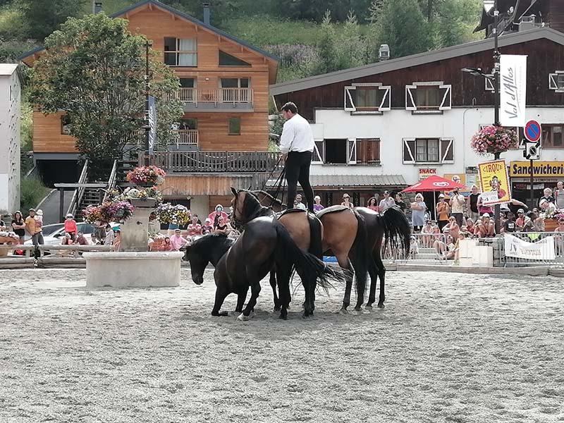 fête du cheval dans le Val d'Allos