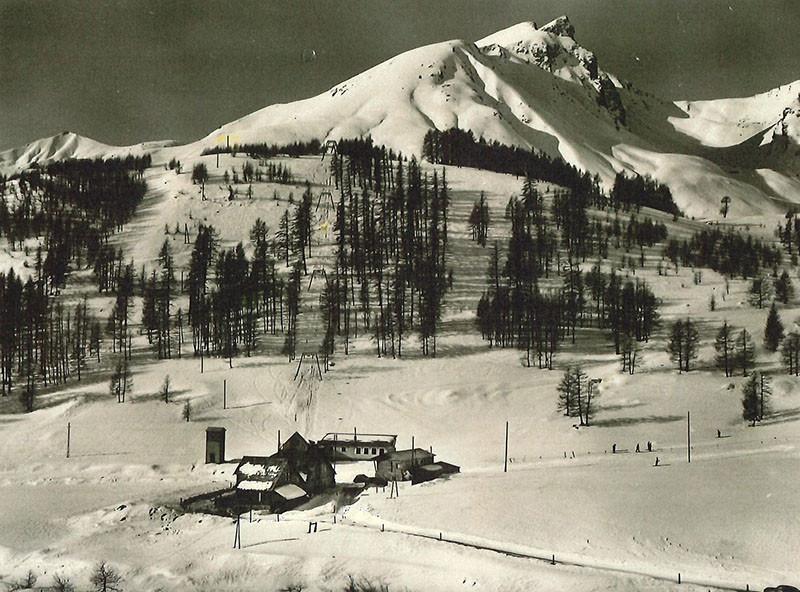 débuts du ski