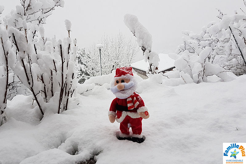 noel sous la neige