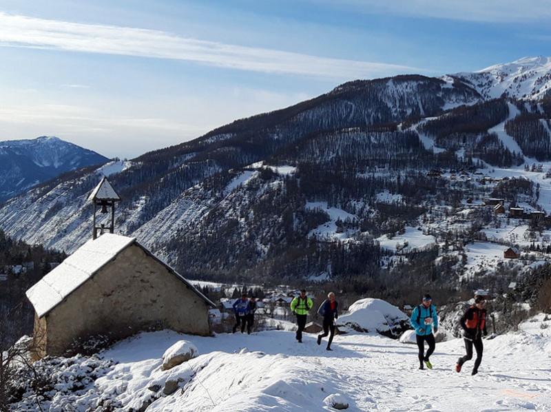 Trail blanc du Val d'Allos