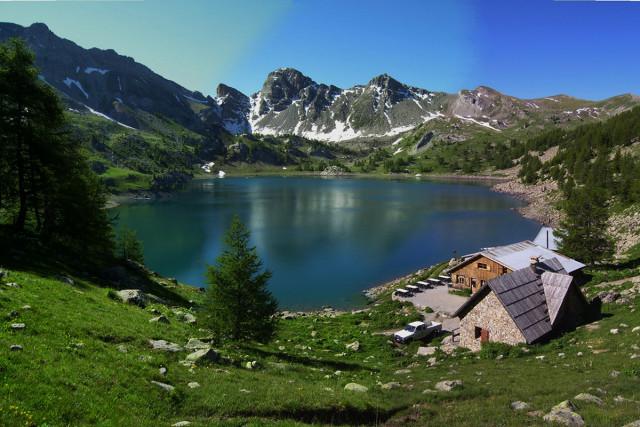 refuge du lac d'Allos
