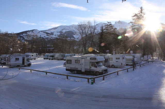 val d'allos, aire campings cars