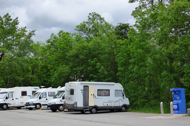 aire pour campings -cars