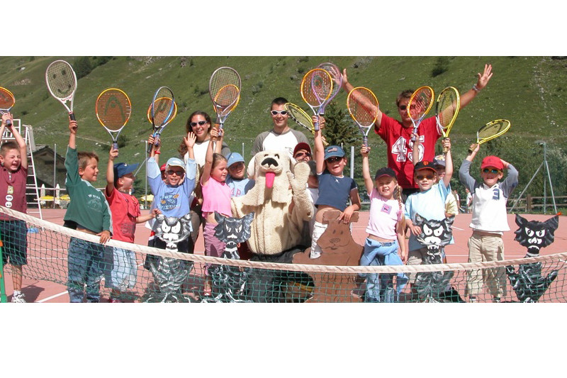 tennis montagne