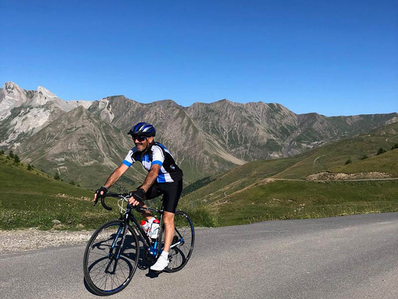 cyclisme col d'allos - © office de tourisme du Val d'Allos