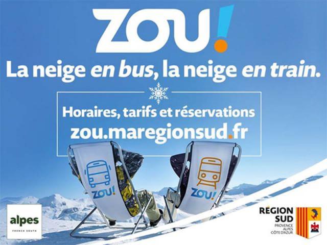 La neige en bus