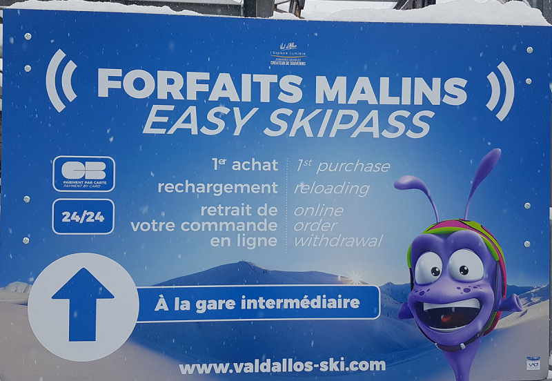 forfait ski en ligne