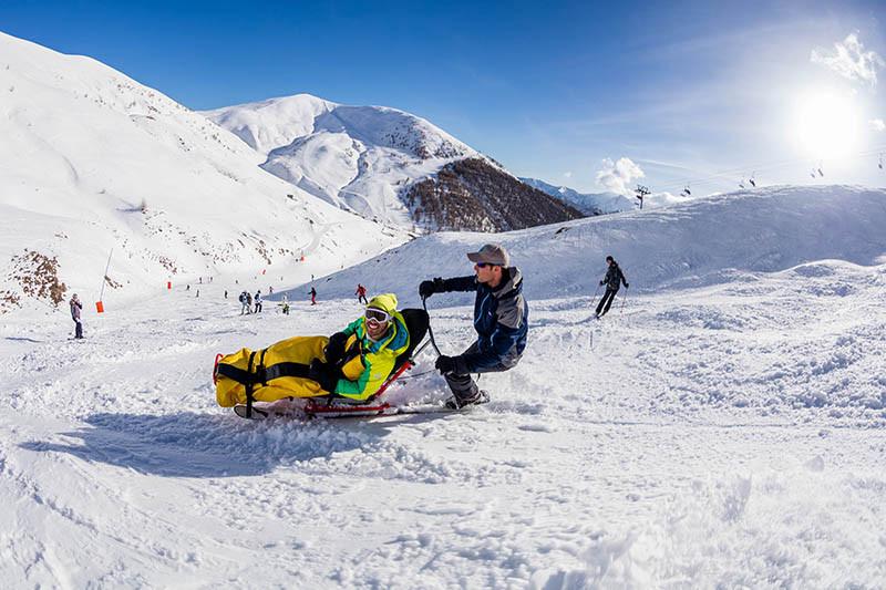 tandem ski